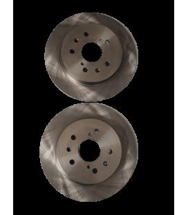 Brake Rotors Rear Pair SPORTS 2006-2015