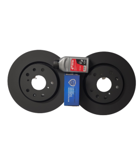 Brake Discs Rear and Pads Sports 2006-2010