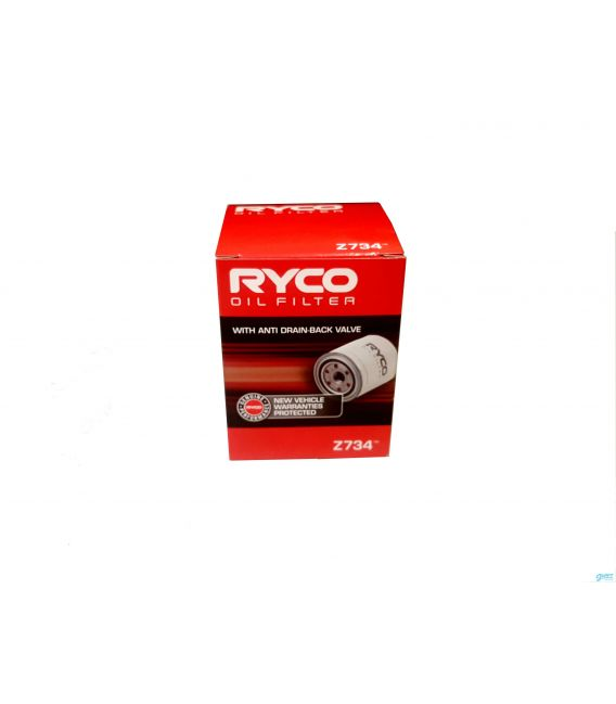 Oil Filter Ryco NZ New Only 2004 to 2010